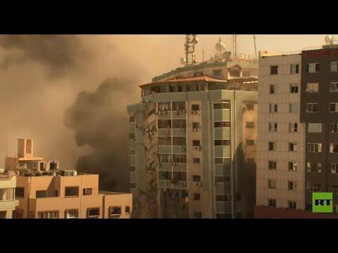 شاهد.. لحظة تدمير برج الجلاء المؤلف من 11 طابقا في غزة  - نشر قبل 3 ساعة