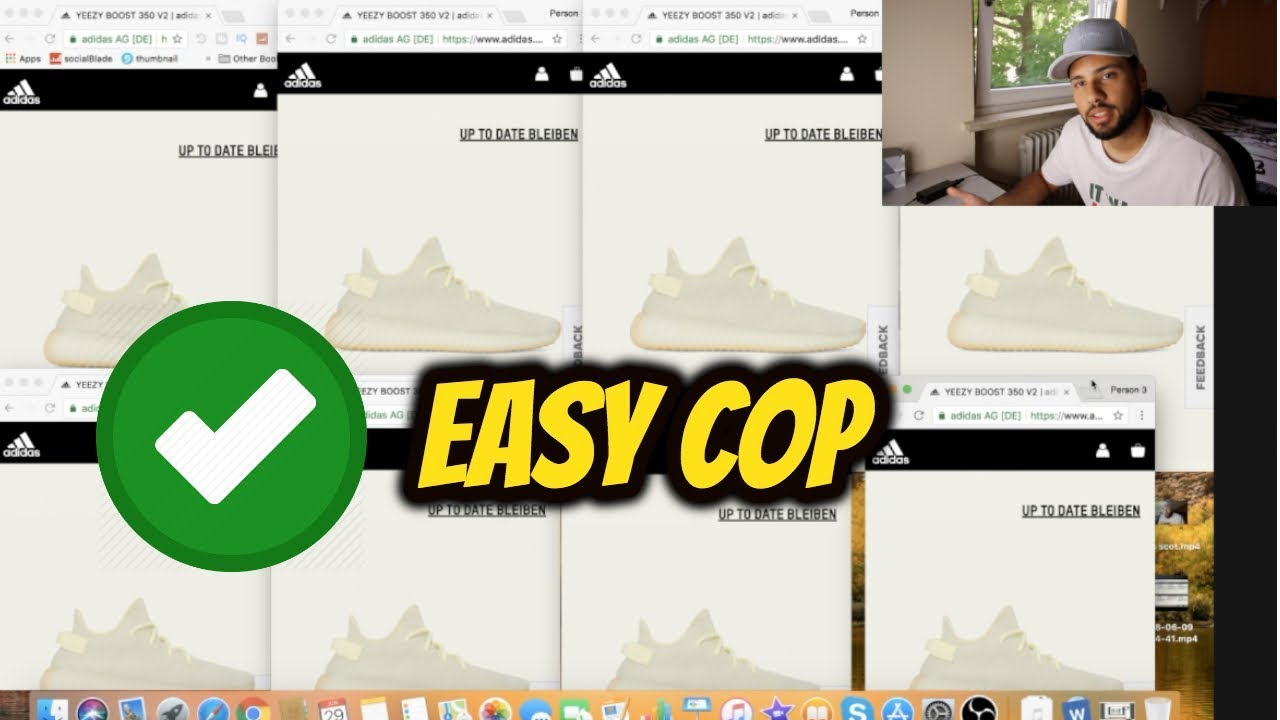 how to cop yeezys on adidas