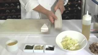Sautéed Crispy Ile De France Brie & Black Truffle Phyllo