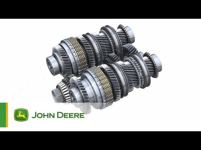 Tracteurs John Deere 6R - Transmission Direct Drive