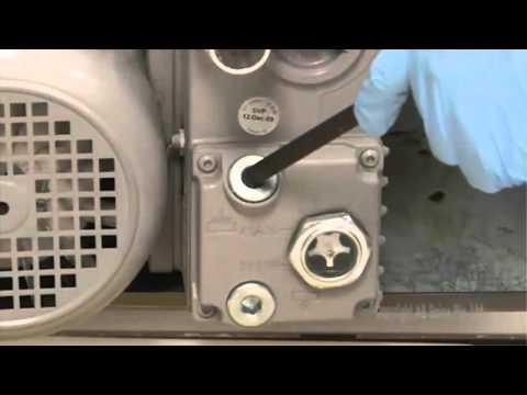 SCIEX 5500&6500 Systems Pump Oil Change