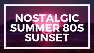 nostalgic summer 80s sunset | royalty free music for videos