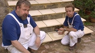 Repair Limestone Steps with Capping Stones