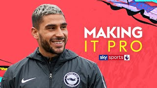 What did Neal Maupay buy with his first pay cheque? | Making It Pro