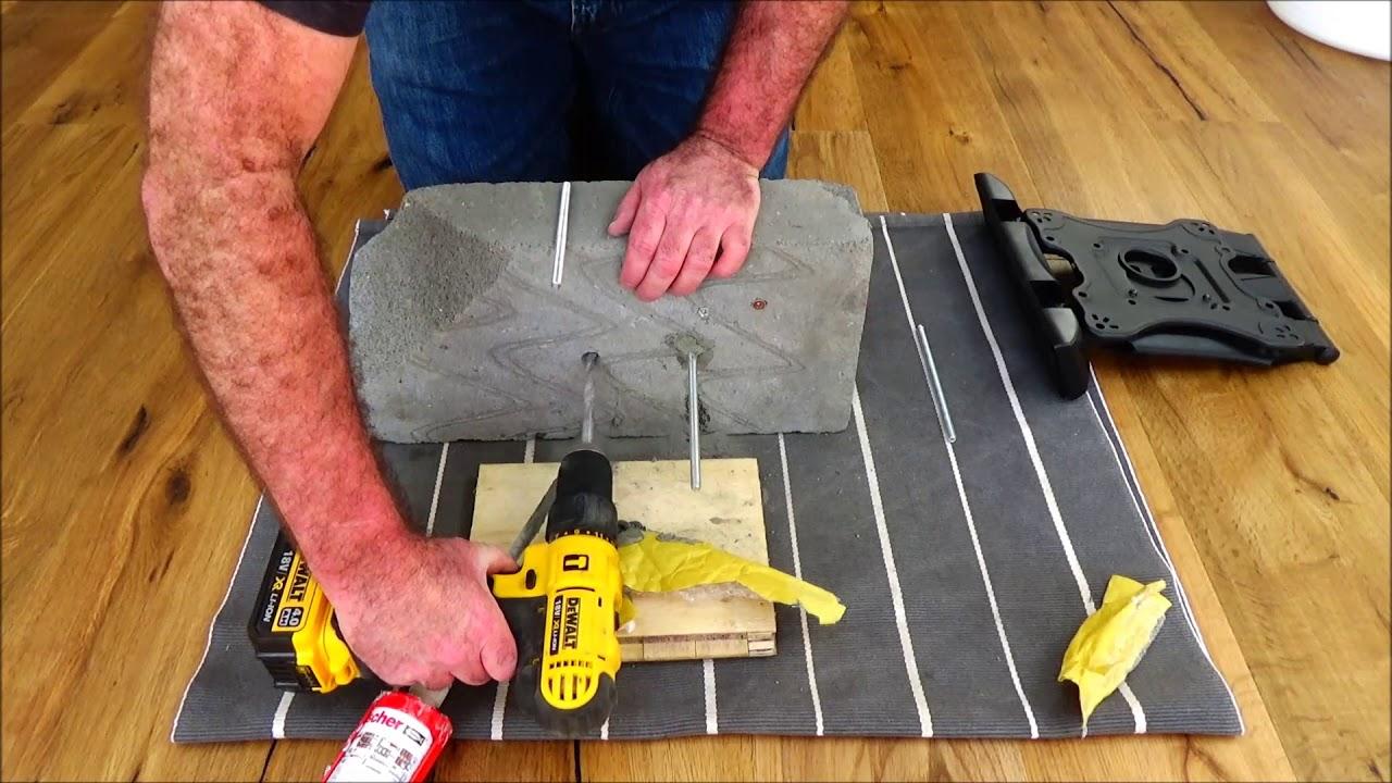 Drilling Screws into Aerated Concrete Blocks (Part 2)