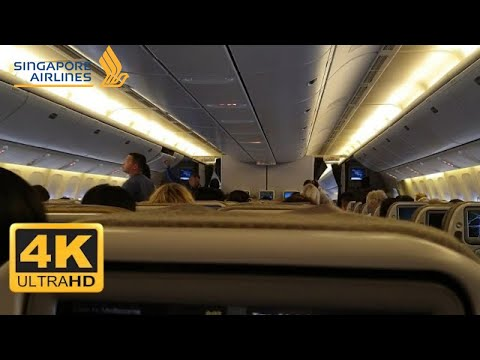 Singapore Airlines Singapore-Melbourne | Economy | 777-200 | Trip Report | 4K #2019