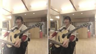 高齢者施設では、始めて弾き語りしてきました(*'▽'*) 歌詞からのトーク...