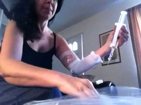 Home picc line infusion
