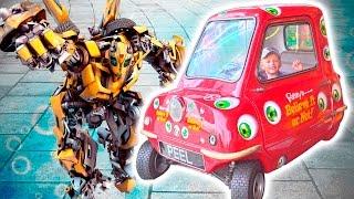 Самая Маленькая Машинка в Мире Трансформер Катер Дракон Катамаран Экскурсия Балтимор много игрушек