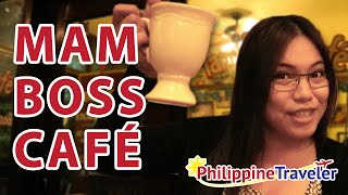 The homiest coffee shop in Davao - MamBoss Café Review