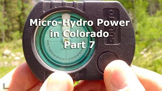 Micro Hydro Electric Power System in Colorado Part 7