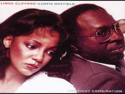 Linda Clifford & Curtis Mayfield - The Right Combination LP 1981