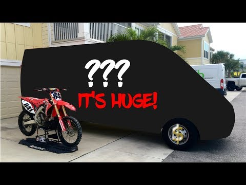 NEW MOTO VAN REVEAL!