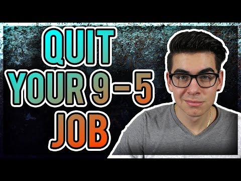 When To Quit Your 9-5 Job For Your Online Business