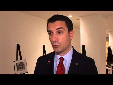 Albanian Minister Erion Veliaj Status of Women at the UN headquarters in New York;