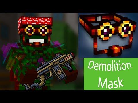Pixel Gun 3D - Demolition Mask UP2 [review]