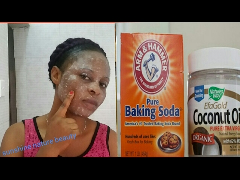 USE COCONUT OIL AND BAKING SODA |LOOK 3-5 YEARS YOUNGER CLEARS WRINKLES AND REDUCES FINE LINES.