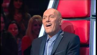 ישראל 3 The Voice - הבן של המלך זוהר ארגוב על הבמה