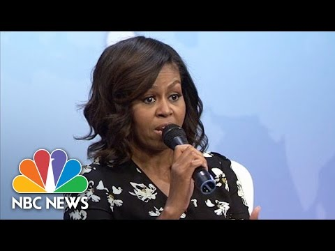 Michelle Obama Advises Young Girls: 'Do Not Be Afraid To Fail' | NBC News