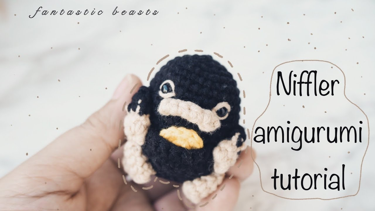 Thoughts From A Doe — Norman the Niffler - Crochet Pattern | 720x1280
