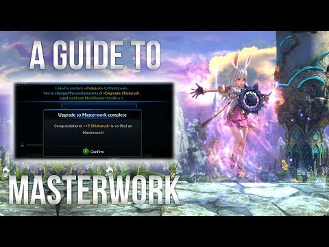 Tera Console: A Guide To Enchanting & Masterwork