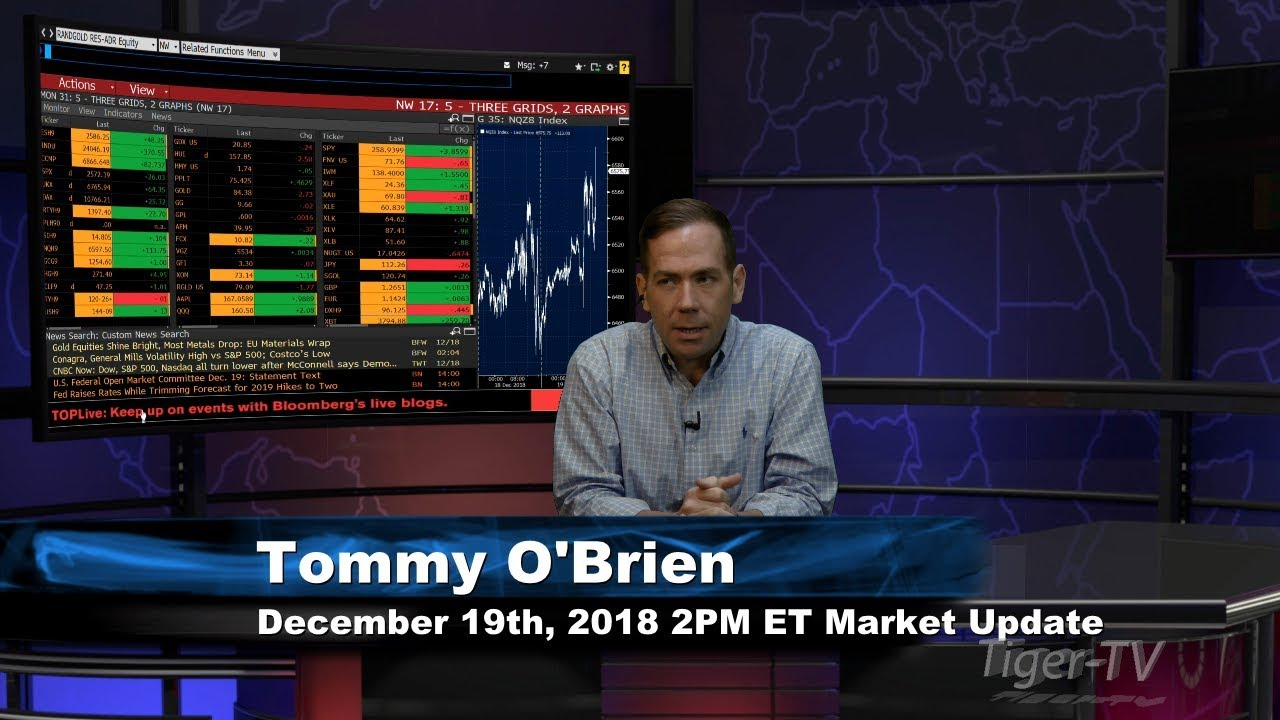 December 19th 2PM ET Market Update with Tommy O'Brien on TFNN