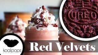 Red Velvet Oreos Milkshake