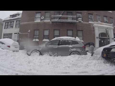 2016 New York Snow Subaru Tribeca VS Forester XT