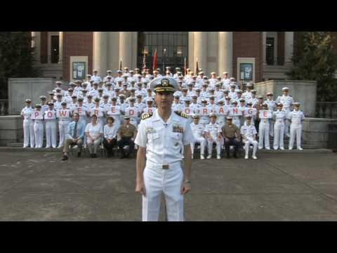 Oregon State University Navy ROTC is POWERED BY ORANGE! - YouTube