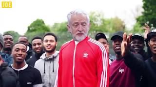 Vote for Jeremy 'Stormzy' Corbyn - Shut Up Remix in under 40 Seconds #VoteLabour #ForTheMany thumbnail