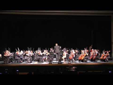 Tomball High School Spring Orchestra Concert 2017