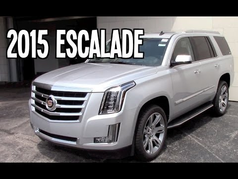2015 Cadillac Escalade Luxury Review