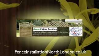 Garden Fencing In North London, Fencing North London : Greenfellas