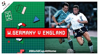 #Italy90 | West Germany 1-1 (4-3 PSO) England [Extended Highlights] | 1990 FIFA World Cup™