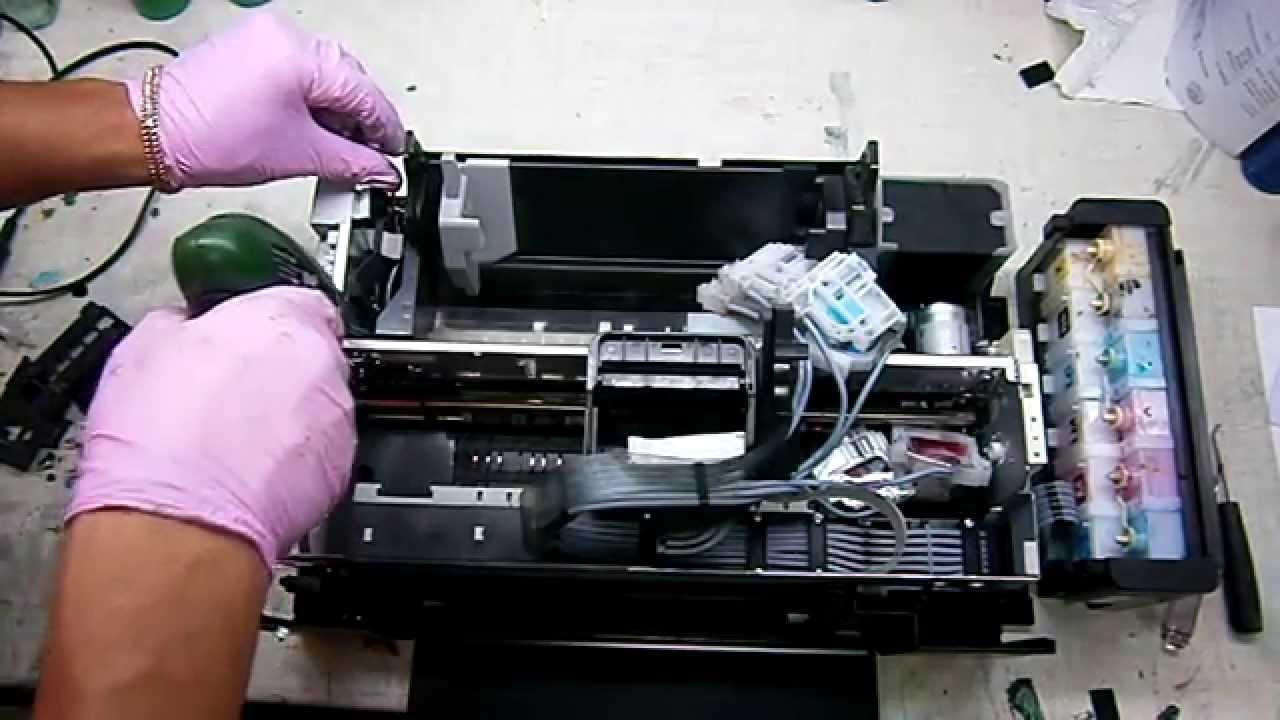 Принтер EPSON Stylus Photo 1500W, струйный, цвет: черный .