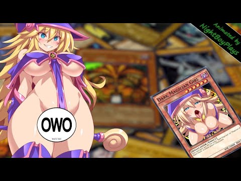18+ Dark Magician Girl Animated Censored (Timelapse)
