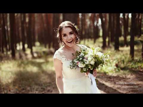 Это стоит посмотреть! Очень нежное свадебное видео. Свадьба в Харькове. Видеограф. Свадебный трейлер - Видео онлайн
