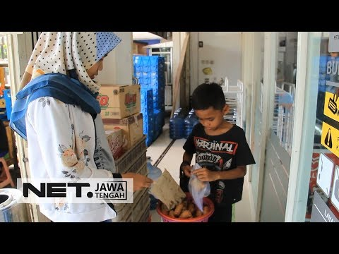 Perjuangan Seorang Bocah SD Berjualan Martabak Demi Membantu Ibunya - NET JATENG