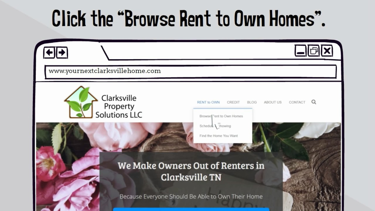 Free Rent to Own Listings in Clarksville TN! - YouTube