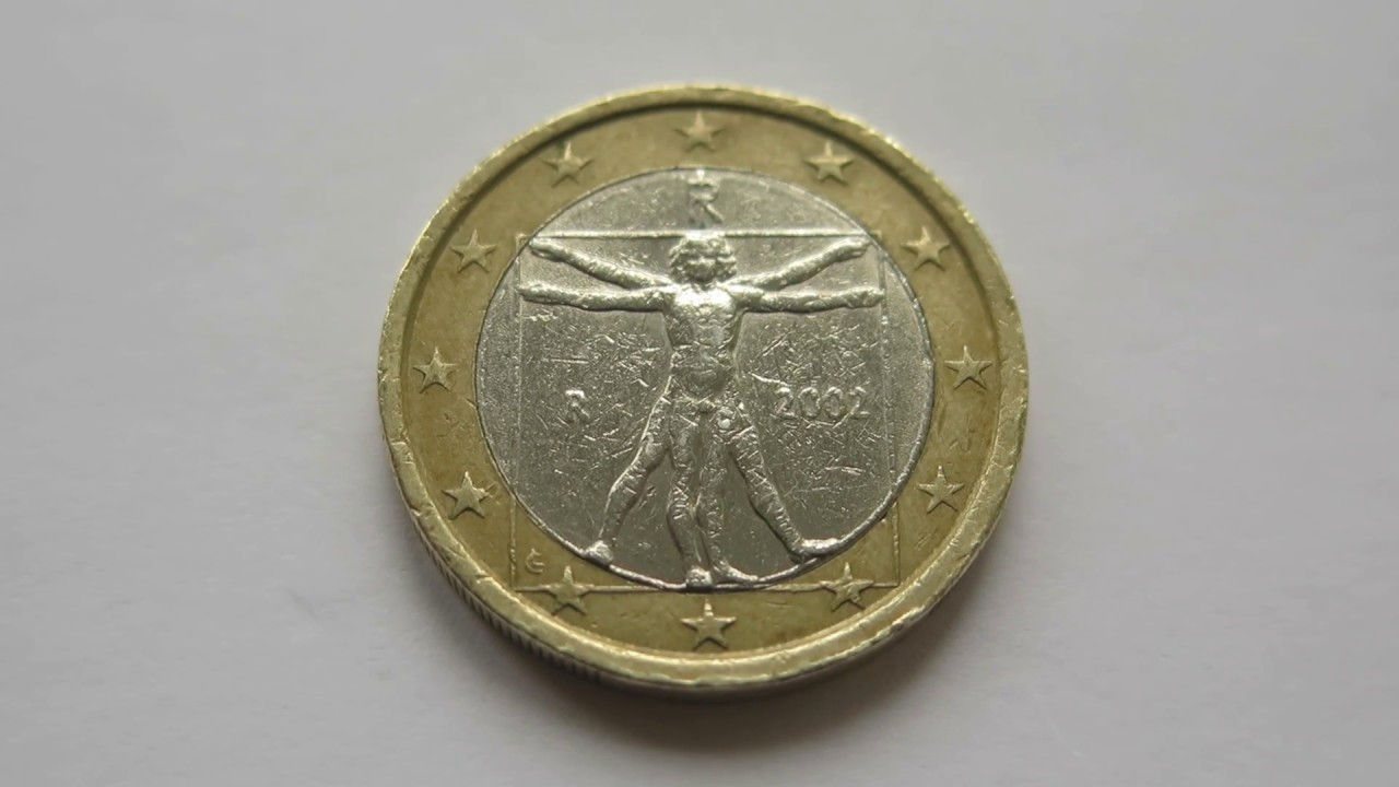 1 euro coin italy 2002 youtube. Black Bedroom Furniture Sets. Home Design Ideas
