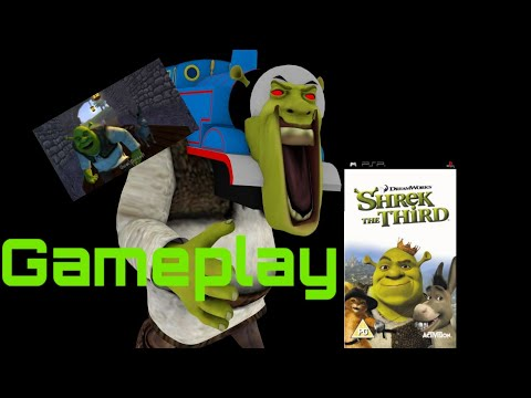 GAMEPLAY DE SHREK THE THIRD (PSP) *TERMINA BIEN*