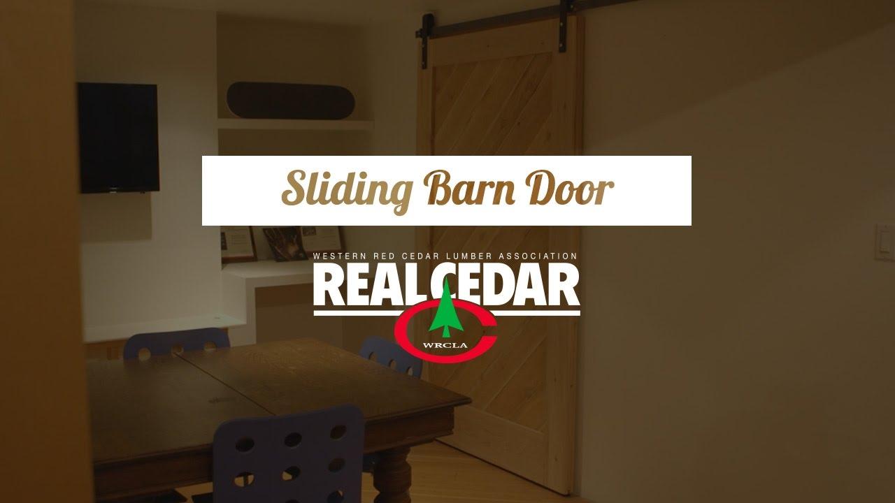 Free Plans To Build Sliding Barn Doors Youtube