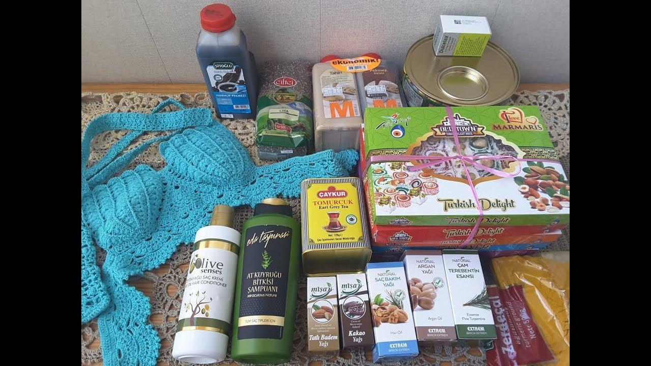 7e947f1b743f Наши покупки в Турции, в Мармарисе. Что привезти из Турции - YouTube