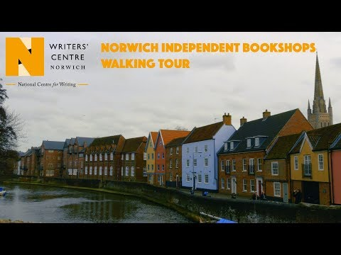 Walking tour of Norwich's indie bookshops