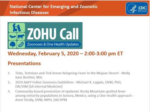 CDC ZOHU Call February 5, 2020