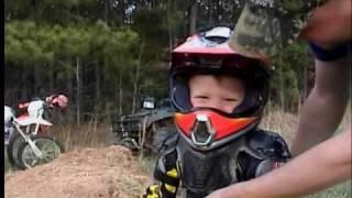 motocross kid crash