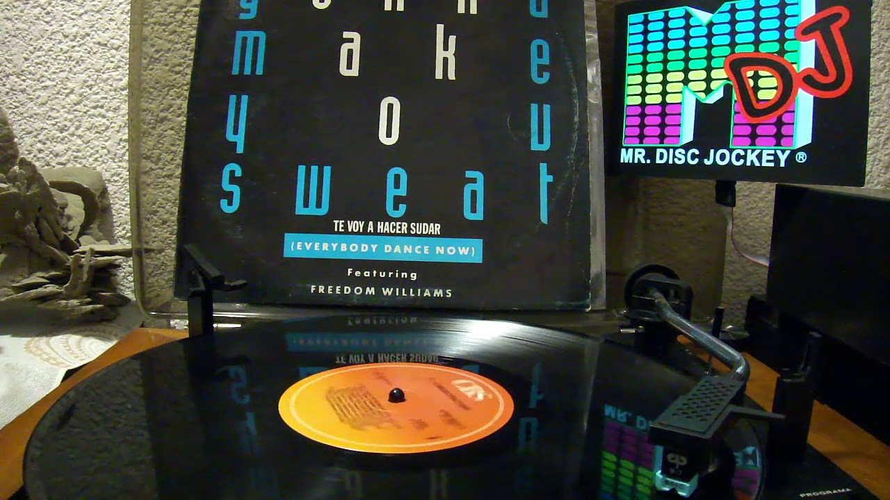 C+C Music Factory - Gonna Make You Sweet (Every Body Dance Now) Remix Mix **Vinyl**1990.
