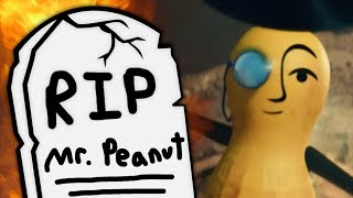 Mr. Peanut is Officially Dead