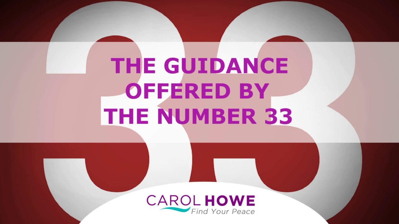 Podcast 33 - The Guidance Offered By The Number 33