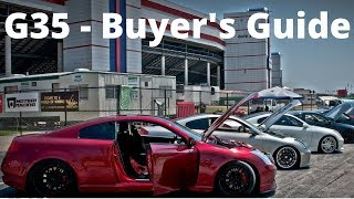 INFINITI G35 Buyer's Guide - Common Issues and Problems - Nissan 350z